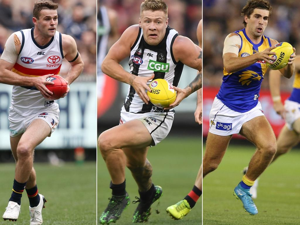 These AFL stars have contract issues.