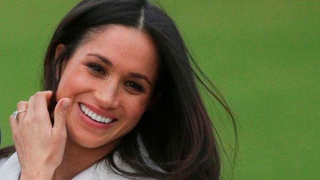Meghan has been a feminist since she was 11. Image: AFP PHOTO / Daniel LEAL-OLIVAS.