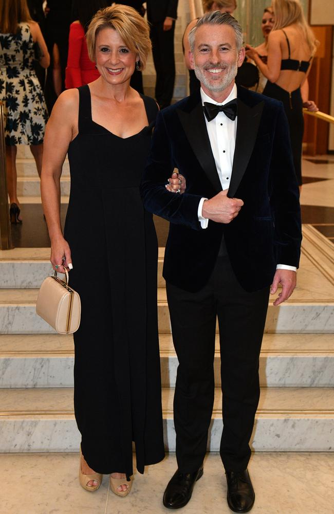 Kristina Keneally and husband Ben. Pic: AAP/Mick Tsikas