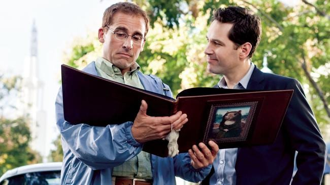 One Tinderer user got set up like Steve Carell in Dinner for Schmucks. Source: Supplied