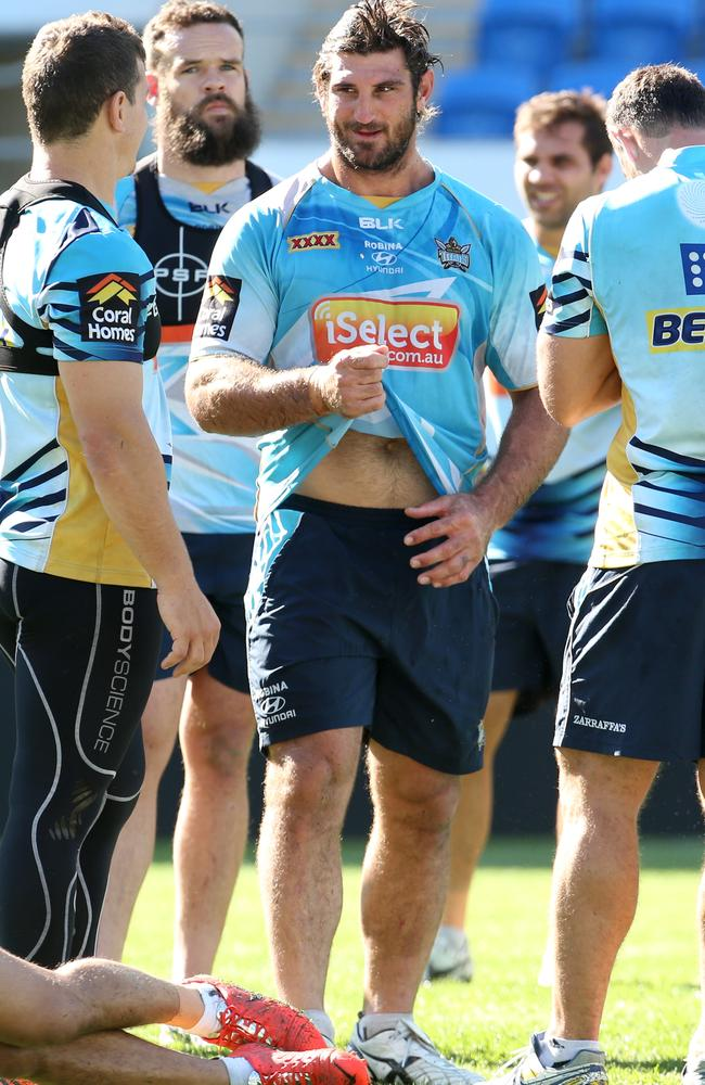 The Titans will hope to have a new name on their shirts in time for next season.