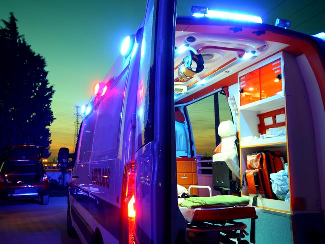 The person was furious to discover the ambulance parked over their driveway. Picture: iStock.