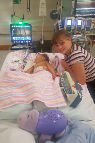 She saved her sister's life. Image: Supplied