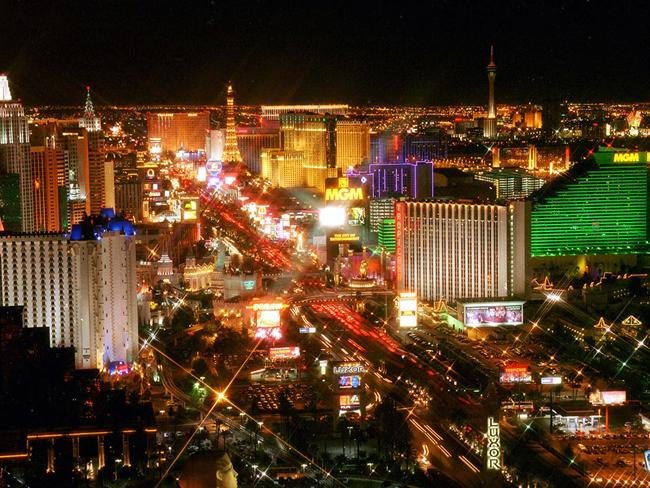 Las Vegas is rebranding after the mass shooting outside the Mandalay Bay.