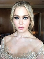 """Jessica Marais ... """"The Мesmerisingly Вeautiful #JessicaMarais right before her appearance at the #TvLogies #MAKEUPbyMaxMay #Hair @valonzhaircutters"""" Picture: @maxmade/Instagram"""