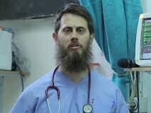 A tweet showing Tareq Kamleh, the former Adelaide doctor who joined IS. Picture: Twitter