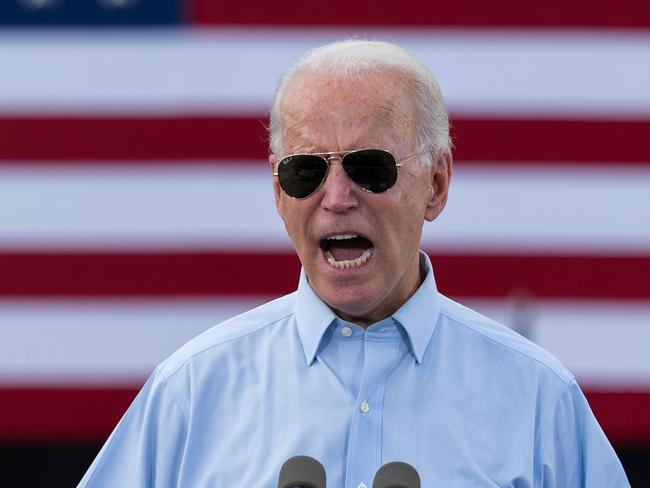 Democratic Presidential candidate and former US Vice President Joe Biden. Picture: JIM WATSON / AFP