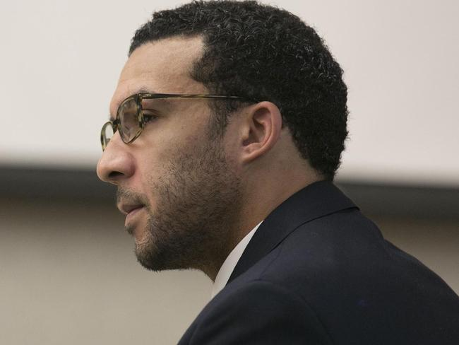 Former NFL football player Kellen Winslow Jr. Picture: AP