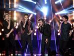 Niall Horan, Liam Payne, Harry Styles, Louis Tomlinson of One Direction perform onstage during the 2015 American Music Awards at Microsoft Theater on November 22, 2015 in Los Angeles, California. Picture: Getty