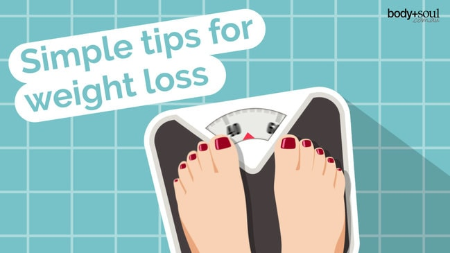 Simple tips for weight loss