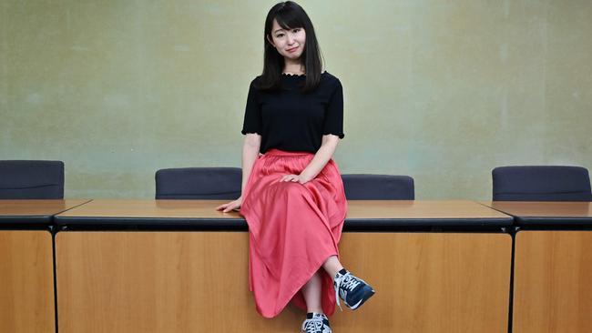 Ishikawa is the leader of the #KuToo movement. Picture: Charly Triballeau.