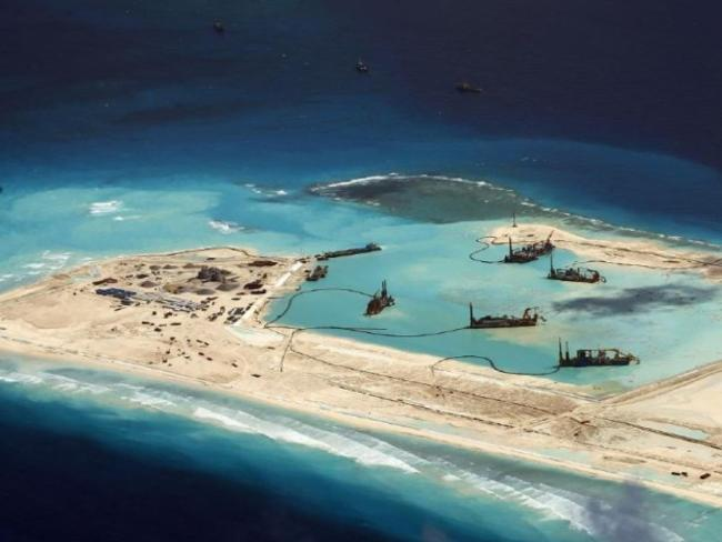 Australia may be forced to get involved. Picture: CSIS Asia Maritime Transparency Initiative/Digital Globe