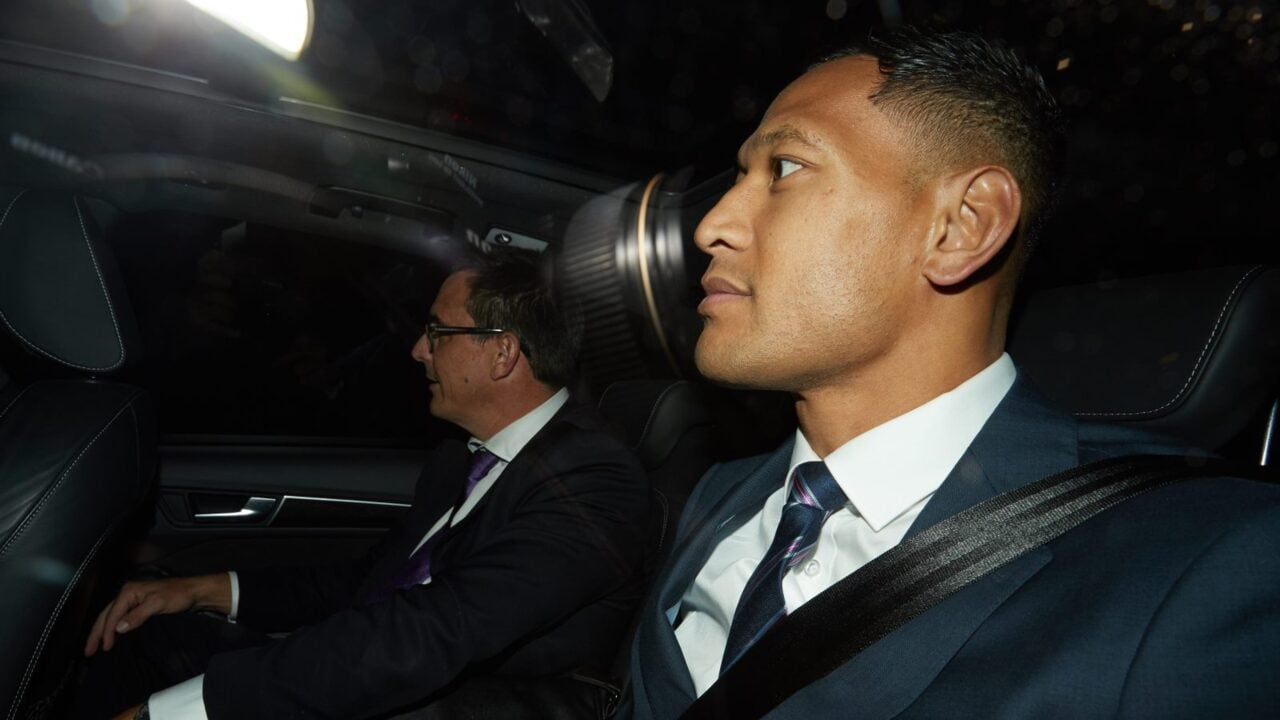 Israel Folau to seek $10m in damages over 'unlawful' dismissal