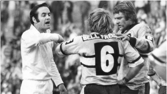 **This picture has a scanned reverse — see associated content at the bottom of the details window** Kevin Roberts, rugby league referee.