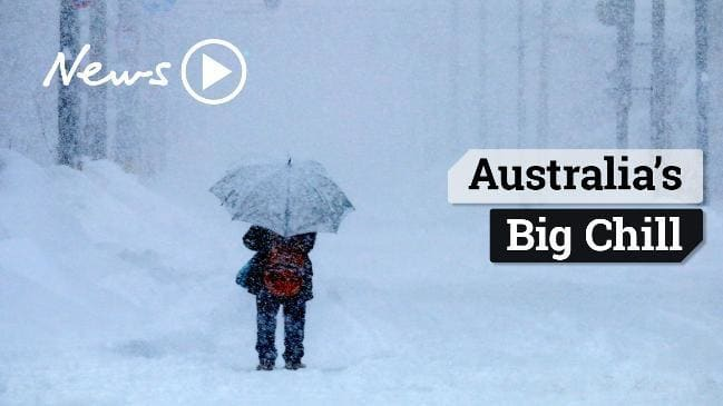 How cold does it get in australia during the winter