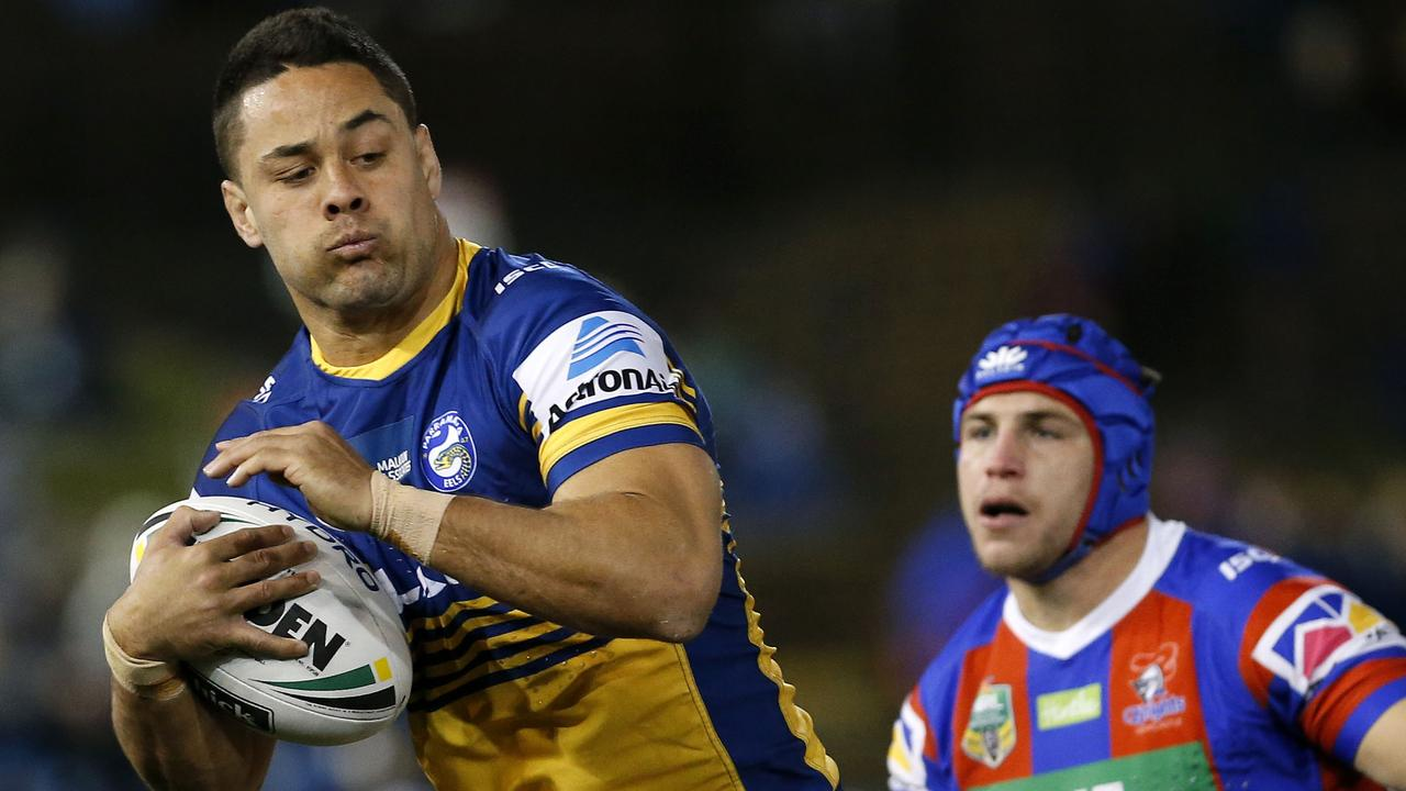 Jarryd Hayne was at his attacking best against the Knights.