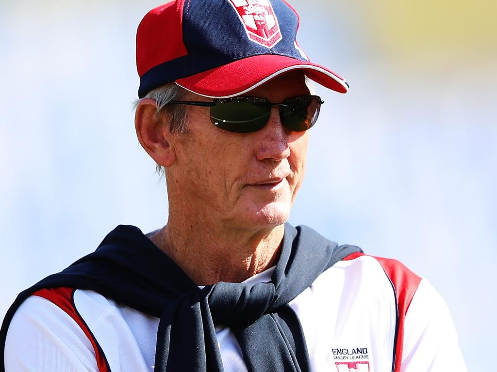 Wayne Bennett will take charge of the England team to contest the Rugby League World Cup Nines at Bankwest Stadium in October. Picture: Getty Images