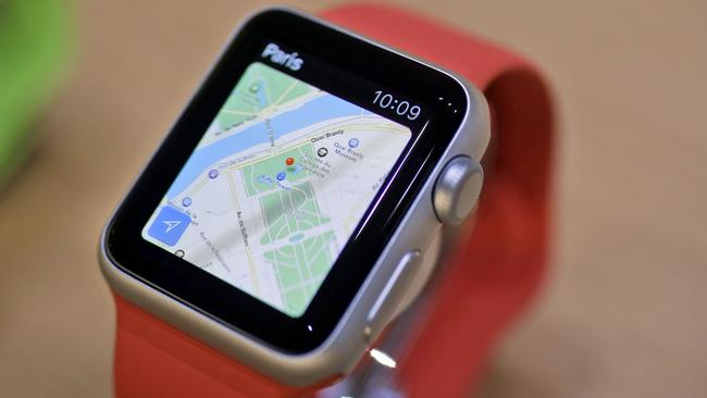 First of its kind ... Apple introduced its first smartwatch this year, the Watch. (Photo: AP Photo/Eric Risberg)