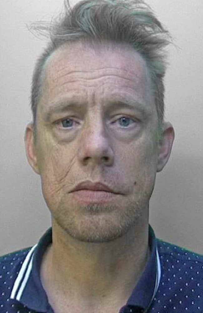 Lance Stride, now 45, was found guilty of a string of sex offences against Taylor and her sister and was jailed for 21 years. Picture: Supplied / The Sun
