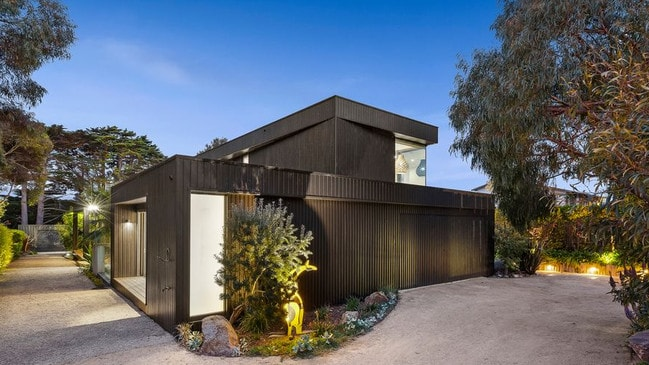 This Flinders home is a modern take on the traditional beach house. Picture: Supplied