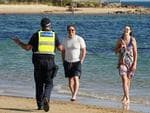 Tighter restrictions are in place to prevent last weekend's scenes of people flocking to beaches.
