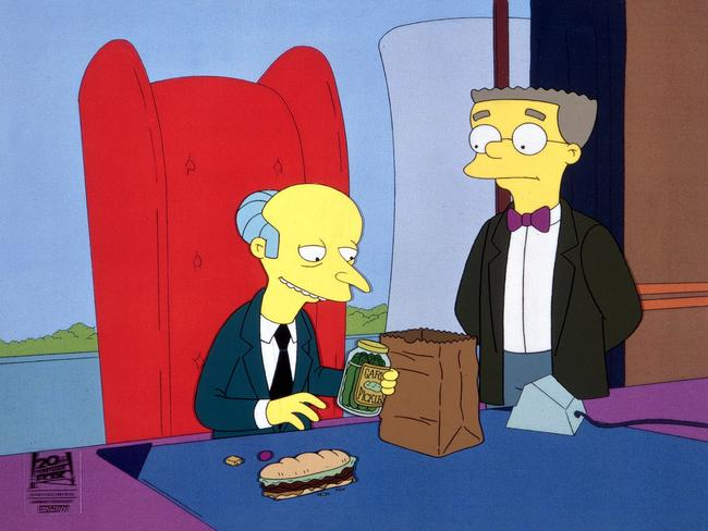 """Burns is the evil owner of the Springfield Nuclear Power Plant and is also Homer Simpson's boss,"" his Wikipedia entry correctly states."