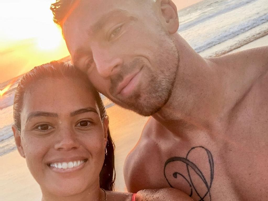 Happy snaps of Bryce Cartwright and wife Shanelle have been removed from her Instagram.
