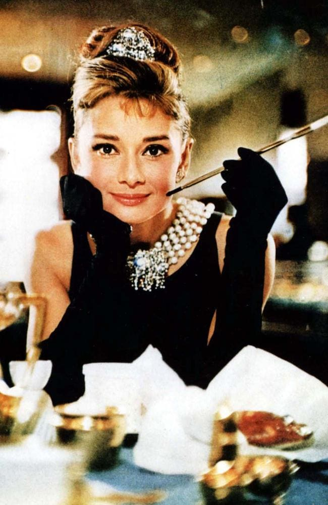 This sleeveless gown Hubert de Givenchy designed for Audrey Hepburn to wear in Breakfast at Tiffany's became the company's most famous design. Picture: Supplied