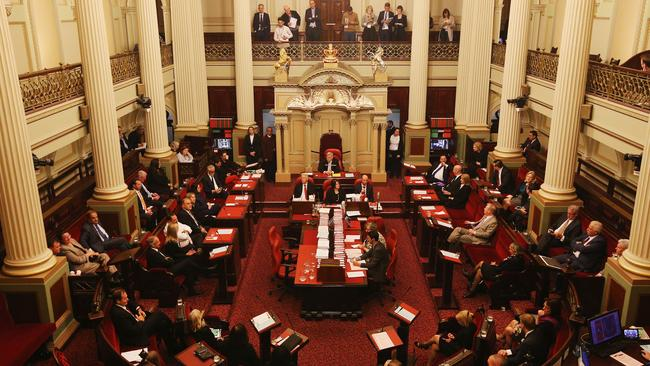 Victoria will be the first state in Australia to offer an assisted dying regimen if the legislation is passed by the upper house. Picture: Michael Dodge/Getty Images