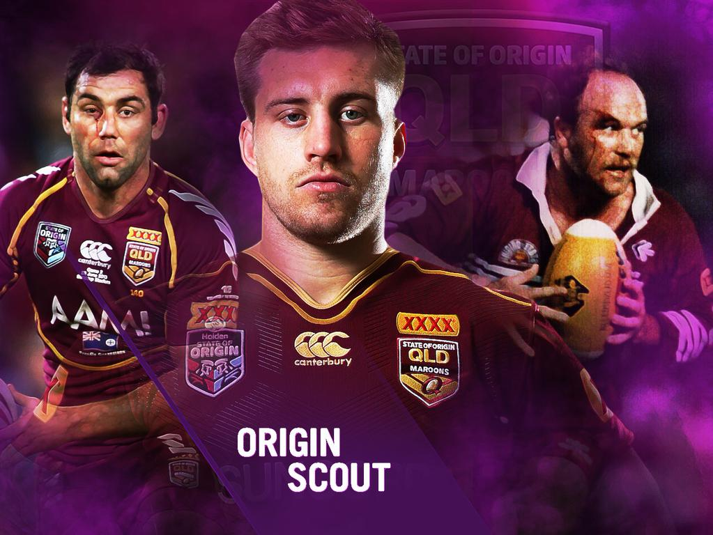 Will Cameron Munster (centre) follow in the footsteps of Cameron Smith and Wally Lewis?