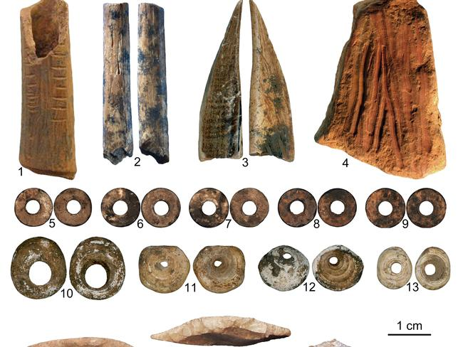 Researchers were struck by the good condition of the artefacts they found. Picture: ANU