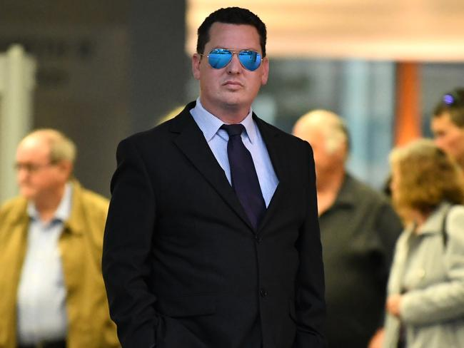 Ipswich lawyer Cameron McKenzie was also found guilty of extortion. Picture: Dan Peled