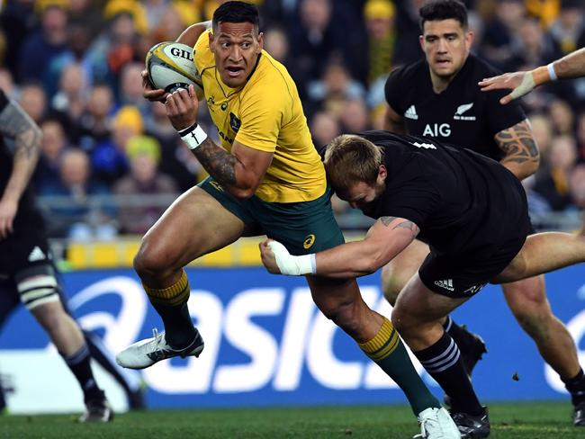 Israel Folau was once the saviour of Australian rugby.
