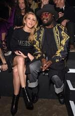 Ellie Goulding and will.i.am attend the VERSUS show during the London Fashion Week February 2017 collections on February 18, 2017 in London, England. Picture: Getty