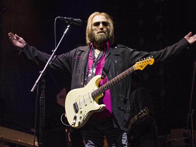 Rocker Tom Petty is currently in hospital.