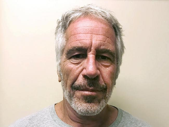 Guest 3, the Jeffrey Epstein. Picture: AP