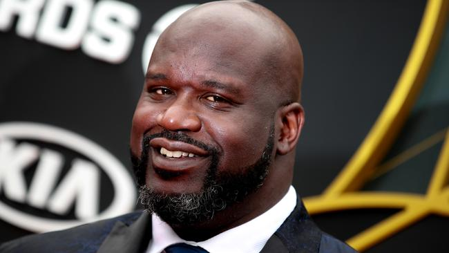 Shaq probably owes Jeff Bezos a beer. Picture: Rich Fury/Getty Images