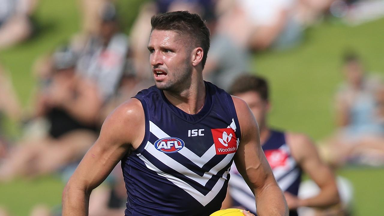 Jesse Hogan of the Dockers won't face North Melbourne in Round 1.