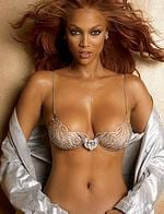 <p>No. 2 - Tyra Banks ... she's definitely hot to trot!</p>