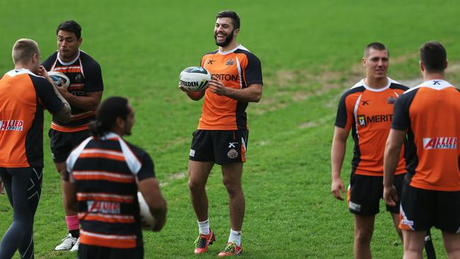 James Tedesco looks quite happy with his decision to reject Canberra.