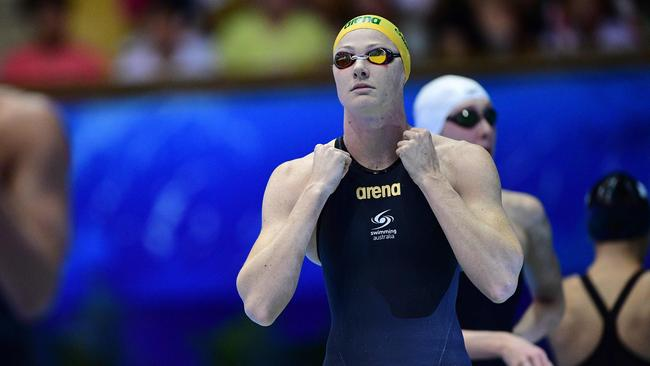 Cate Campbell has had a meet to remember. Picture: AFP