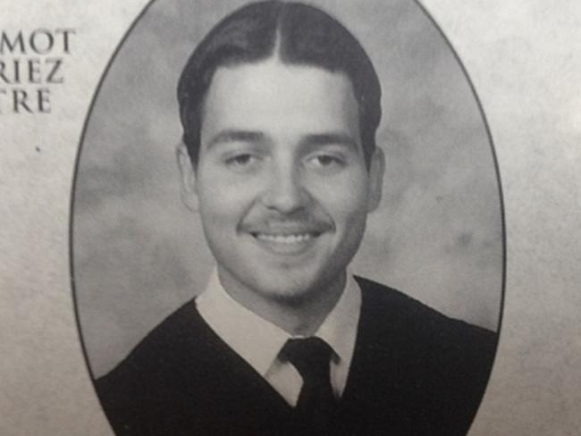 'He will go far' ... Michael Zehaf-Bibeau yearbook photo. A fellow student describes him as 'sociable and intelligent' with great prospects. Source: Supplied