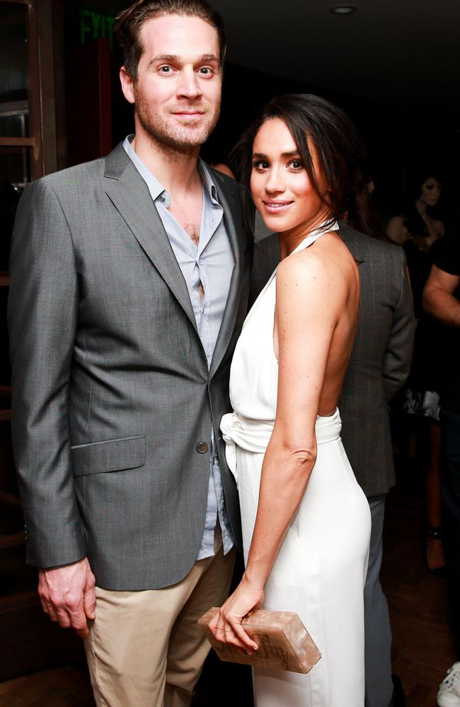 Cory Vitiello and Meghan Markle at a Florida event in 2014. Picture: Ben Rosser/BFA/Shutterstock