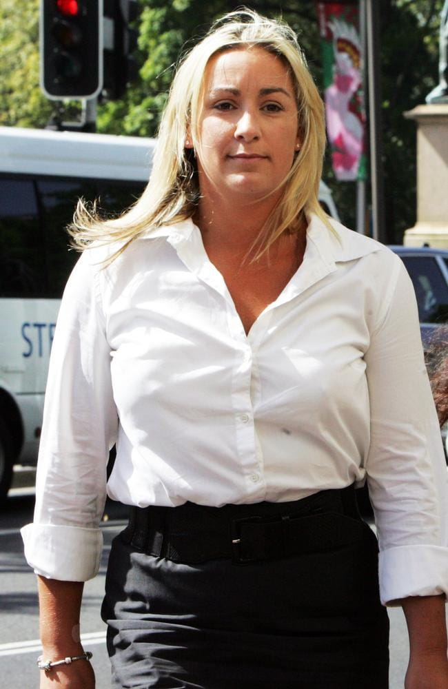 Keli Lane arrives at the NSW Supreme Court in Sydney during her 2010 murder trial. Picture: News Limited