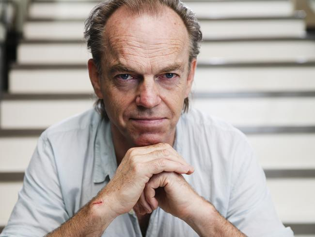 Hugo Weaving was not there to accept his coveted Logie for most outstanding actor. Picture: Justin Lloyd