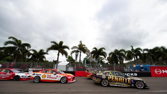 David Reynolds and Scott McLaughlin discussed the collision after the race.