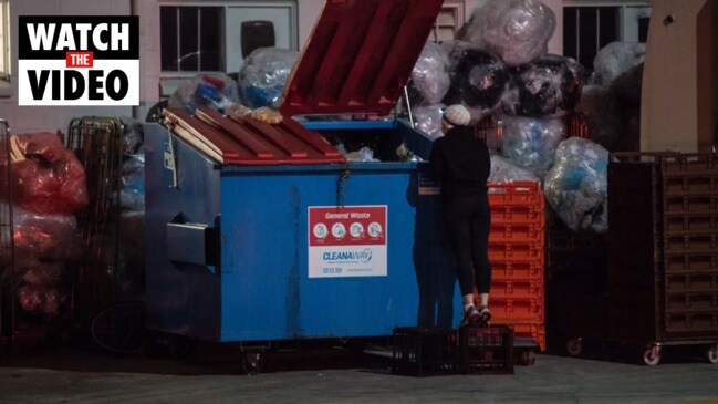 Why are people diving into dumpsters?