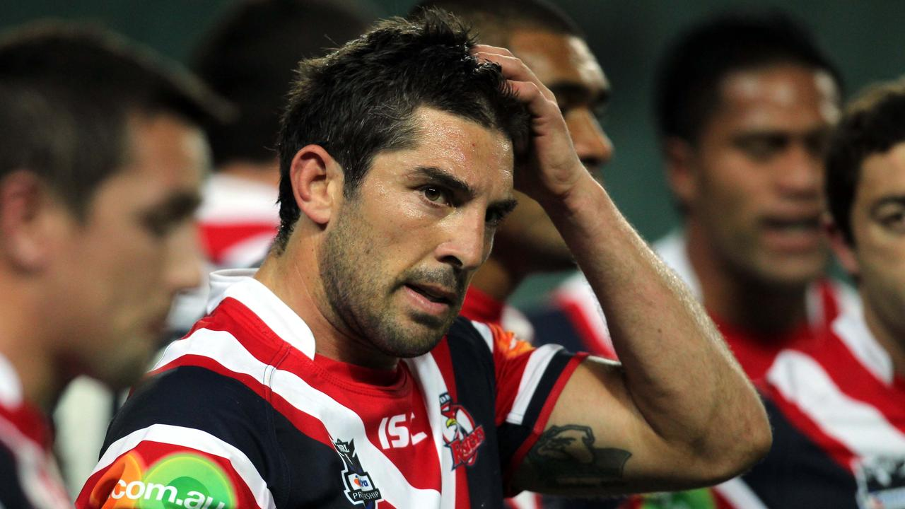 Former Roosters player Braith Anasta.