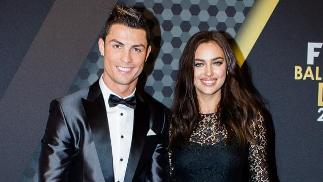 Cristiano Ronaldo and Irina Shayk in 2014.