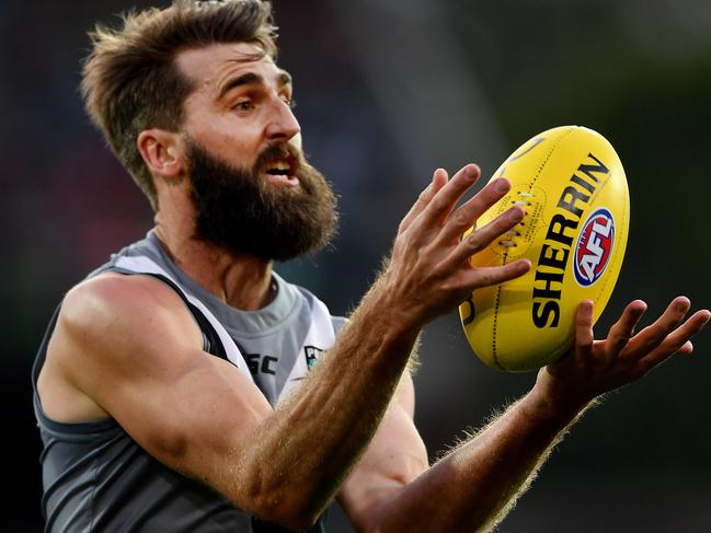 Justin Westhoff was very good for Port.